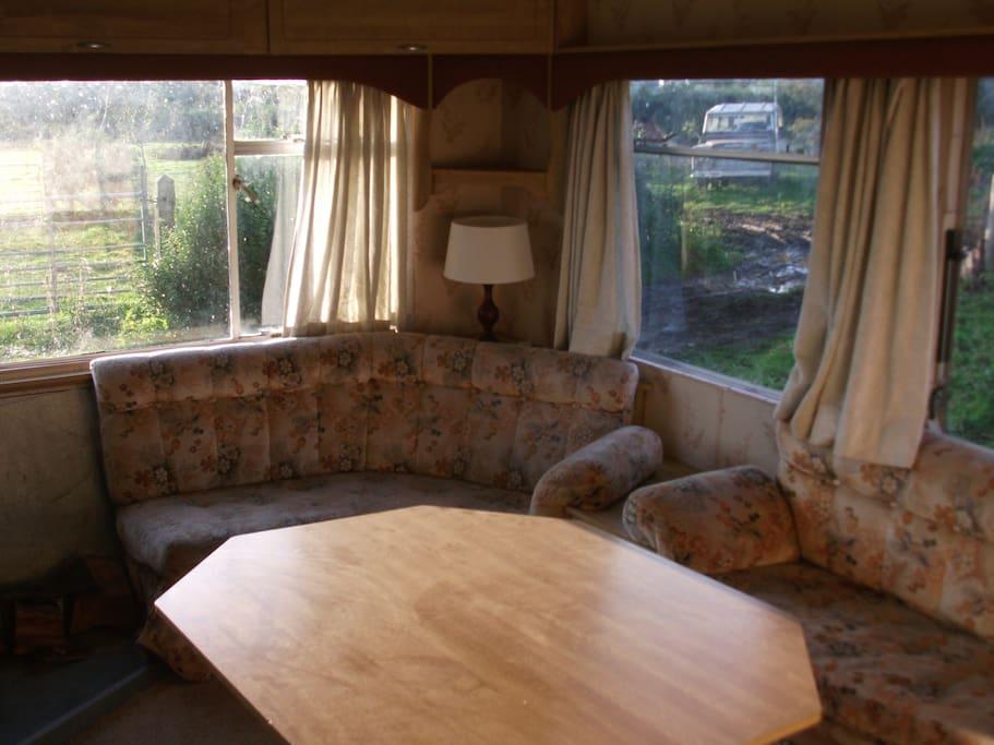Cosy sitting area