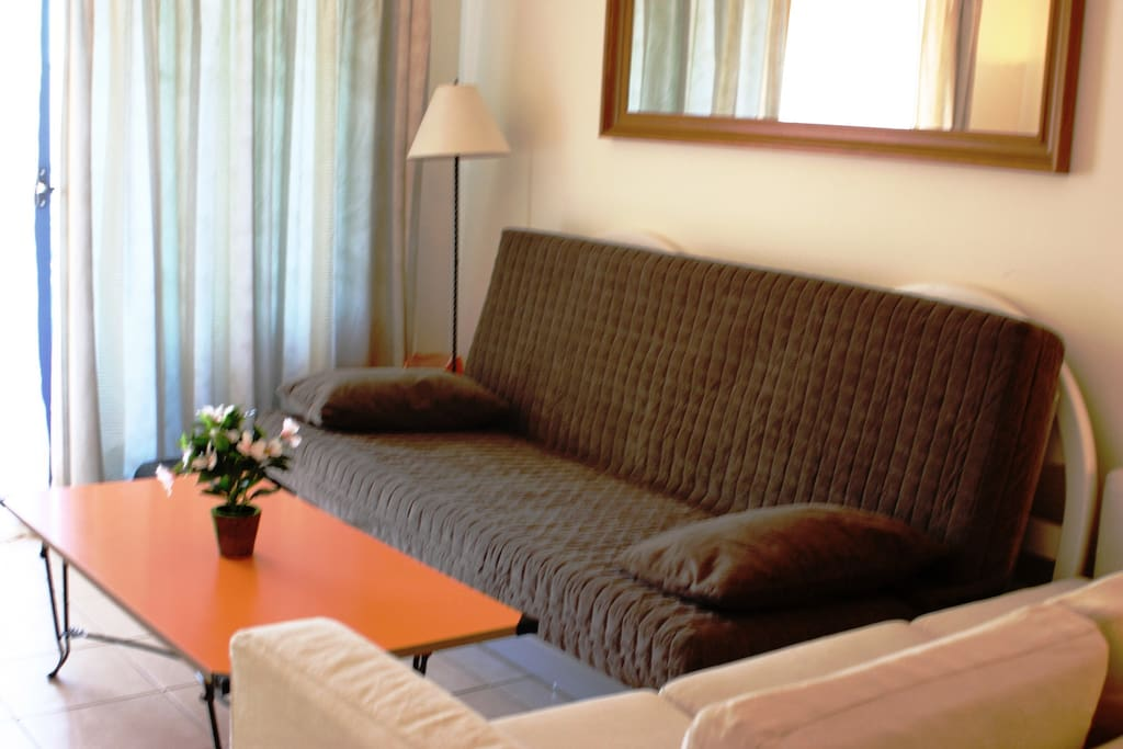 Living room: 1 sofa bed