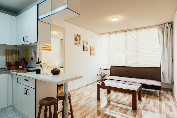Bright apart in University quarter - Santiago - Apartamento