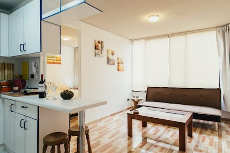 Bright apart in University quarter - Santiago - Appartement