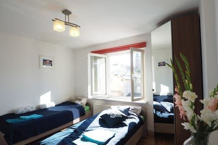 Sopot center, 200 meters to the Beach & Pier - Appartement