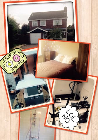 Need to rest your head? - Rushden - Rumah