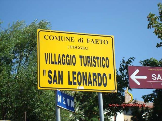 Villetta nel Villaggio Turistico - Faeto - Stadswoning