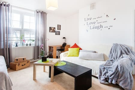 Double room in a two floor flat