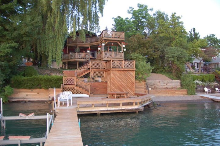 Gorgeous Lake Home Spectacular View - Skaneateles - 獨棟
