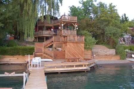 Gorgeous Lake Home Spectacular View - Skaneateles - Ház