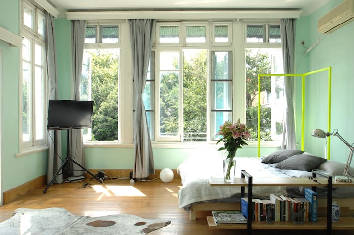 Downtone Apt with private garden - 上海 - Appartement