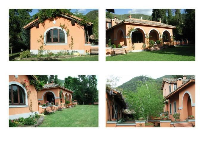 Casale 2 SPA Biliardo Piscina Lago - Poggio catino - Casa