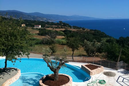 Family Villa with Amazing Sea Views - Telegrafo - Casa