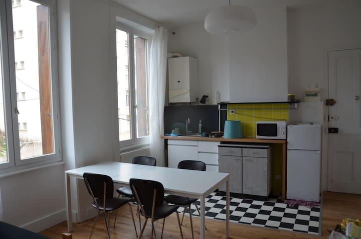 Studio loft près du centre ville - Saint-Étienne - Loft