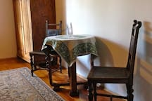 antique chairs and interior