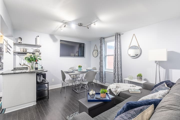 Newly Renovated - Upscale 2BR - Steps to Little Italy!