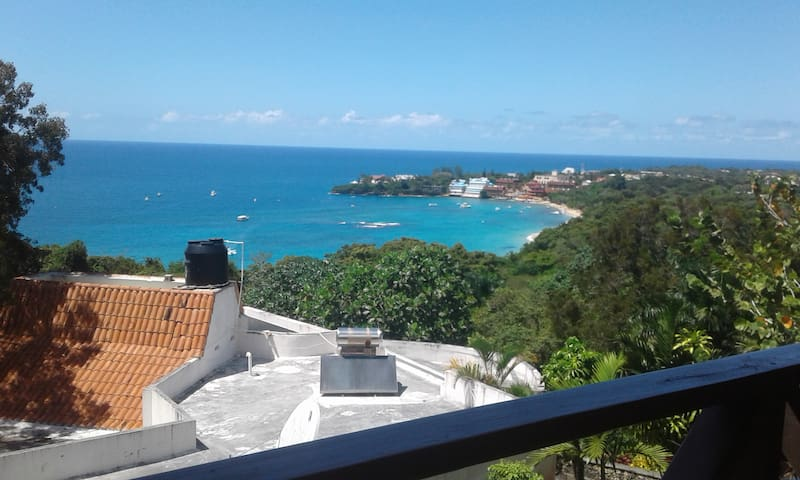 BEST VIEW OF PLAYA SOSUA - Sosúa - Selveierleilighet