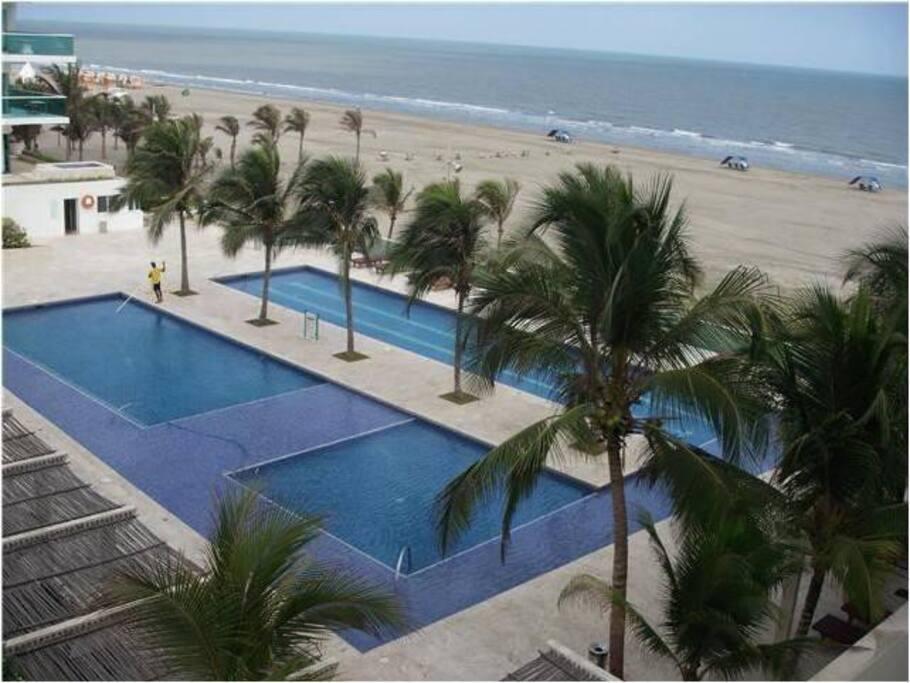 prohibido africano salida en Cartagena