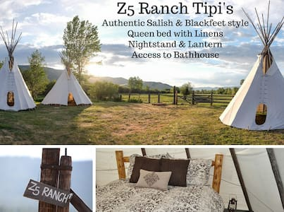 Z5 Ranch Tipi - Arlee