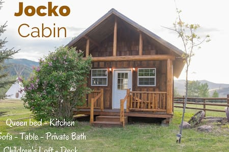 Z5 Ranch - Private Jocko Cabin - Arlee - Hytte