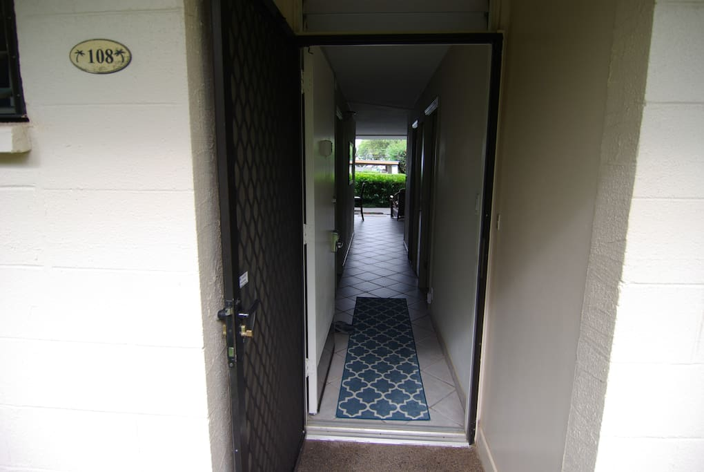 Entrance into #108