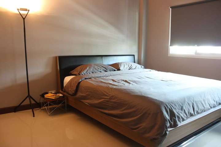 Cozy Room 1, Air Con., 1bed/1bath - Bangkok - Adosado
