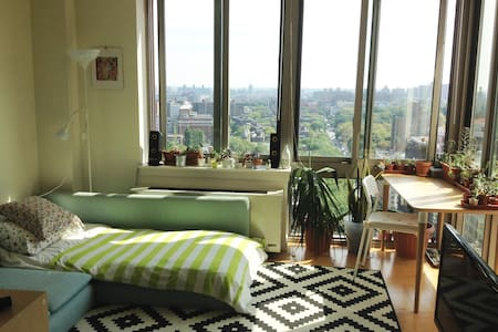 Comfy Sofa in Beautiful Sunny Suite