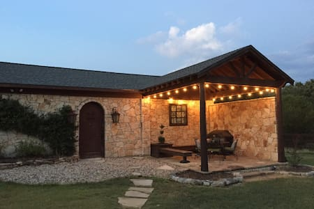 The Hill Country Guest House.