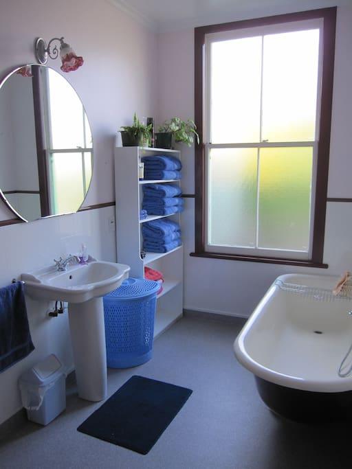 Bathroom - Claw bath and separate shower