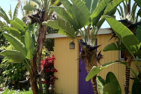 Light & Zen Purple Door Cottage - Oceanside