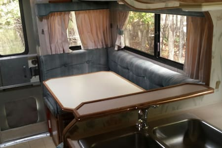 Rustic Mt. Ranch Cabover RV # 2 - Camper/RV
