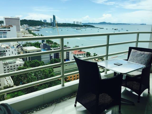View Talay 6 Pattaya Beach Sea View. - Pattaya - Condominio