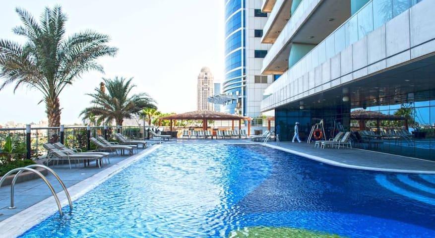 Ocean view apt in Dubai Marina - Dubai - Appartement