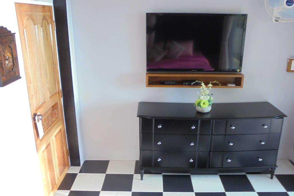 Hauptschlafzimmer/Smart-TV