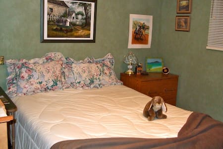 One room, queen bed,  Fort Langley - Langley