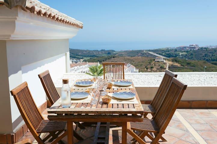 Casares Malaga, Mediterranean Views - Casares - Apto. en complejo residencial