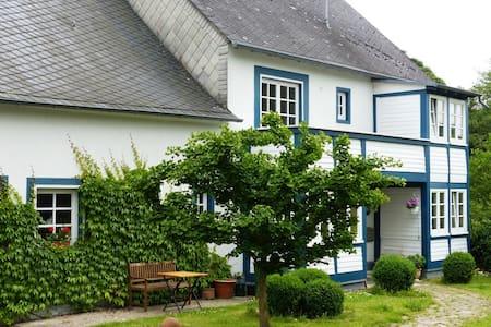 Idyllische Ferienwohnung in der Hockenmühle (3 DZ) - Horbruch (Verbandsgemeinde Rhaunen)