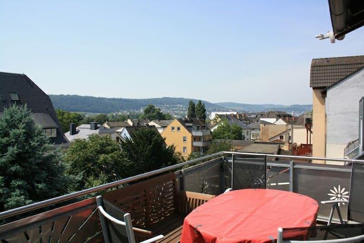Traumhafte Aussicht über Rüdesheim - Rüdesheim am Rhein - Leilighet