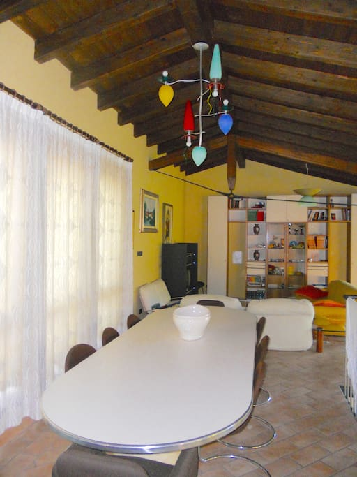 appartamento open space , sala soggiorno