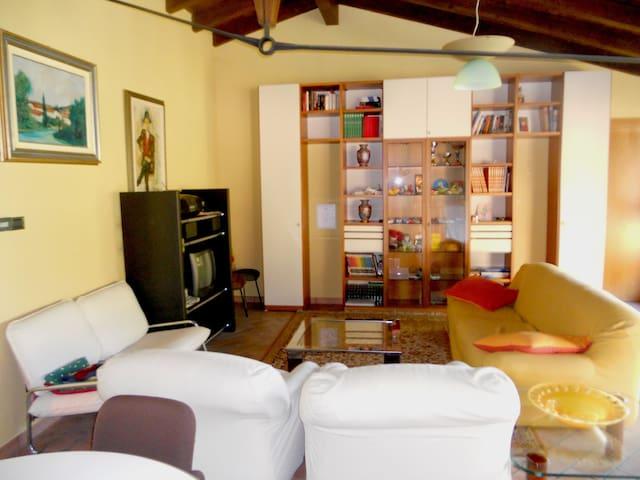 Loft indipendente in campagna - Mirandola - Apartamento