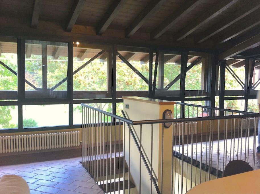 appartamento open space , ingresso interno