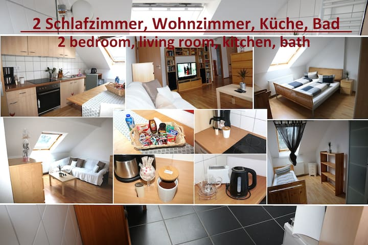 Schöne 56 qm Wohn. mit Küche, 2 SZ - Krefeld - Квартира