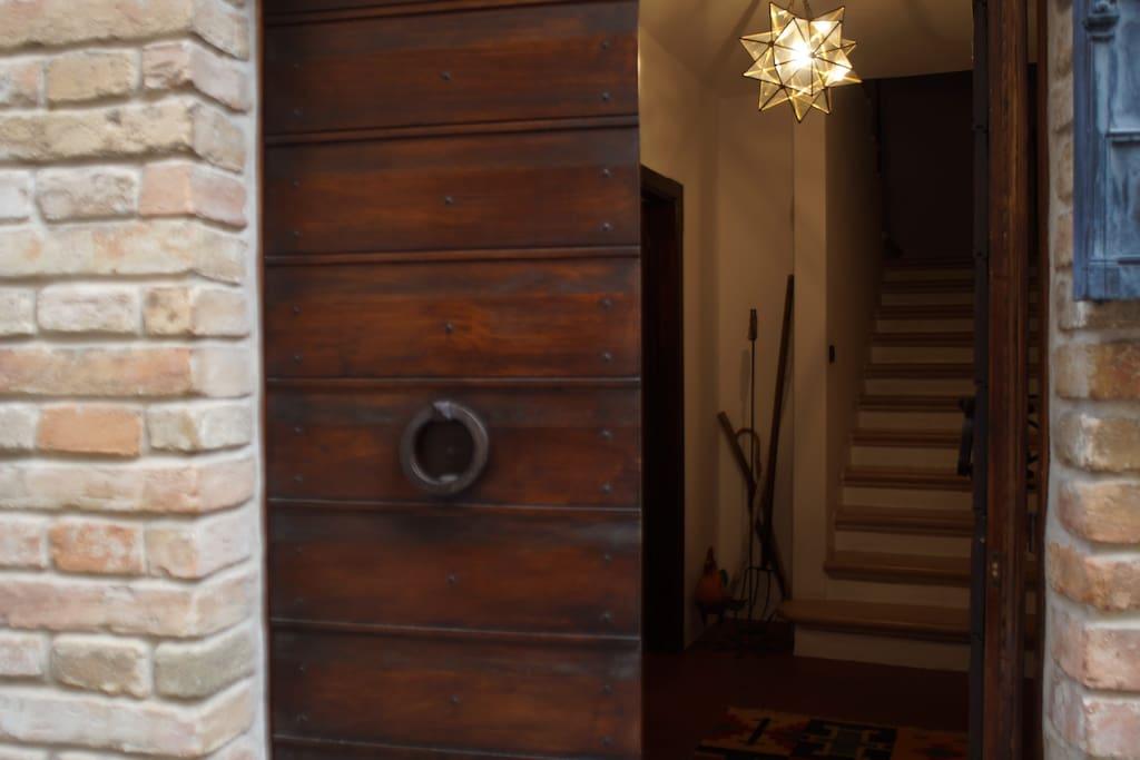 porta d' ingresso