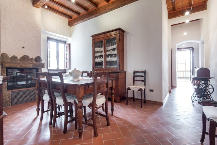 120sqm House near Florence, Siena and Chianti