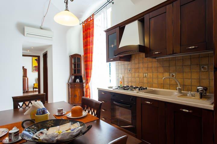 Kitchen Fully Equipped Cucina Accessoriata