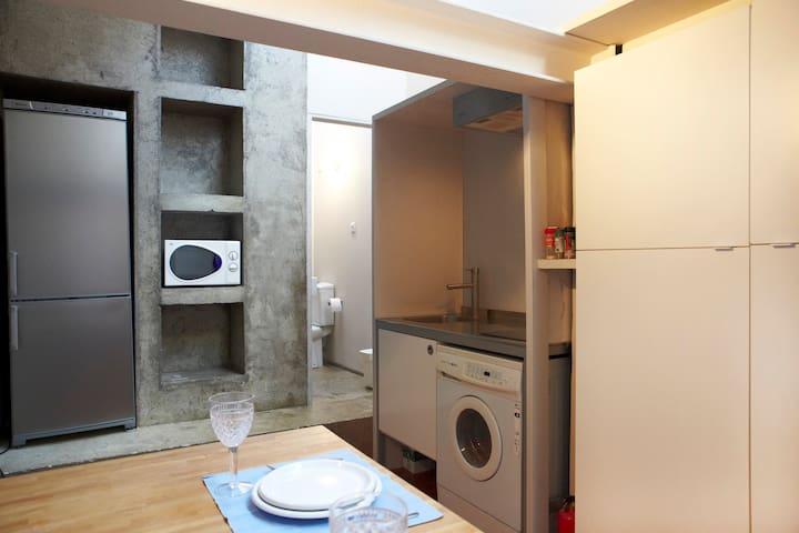 Cocina (sin lavadora)