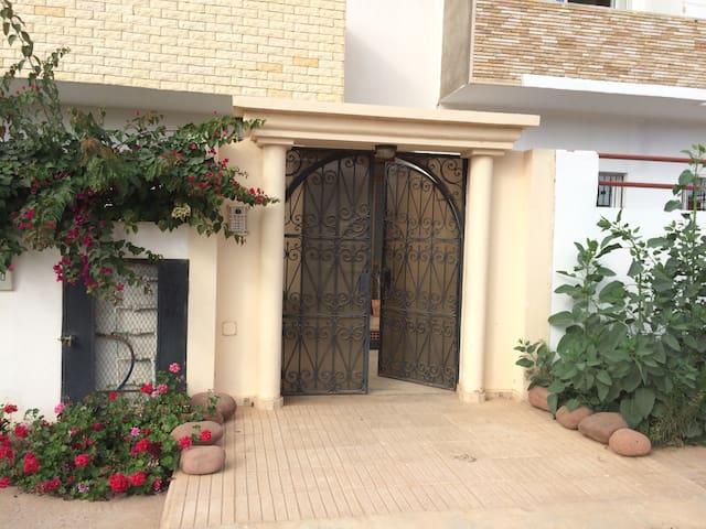 Appart 1 Chamb+Salon RDC - Agadir - Apartament