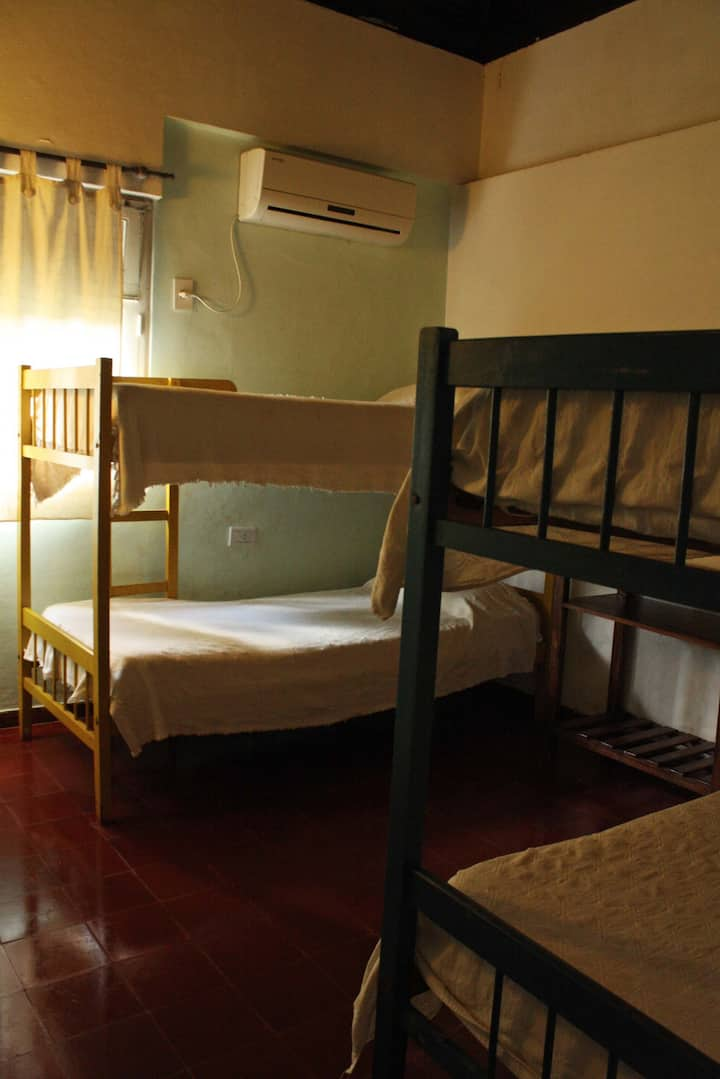 Bed in Dormitory 4