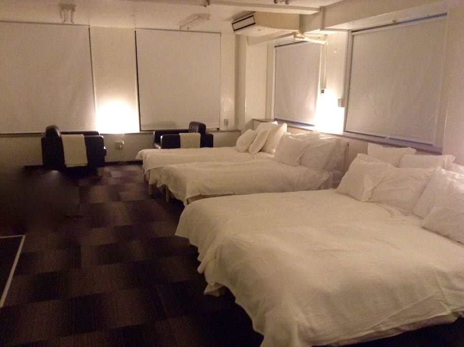 Your room picture. It will be all yours no other guests. お部屋の写真です。貸切です。他にはゲストさんは入りません。