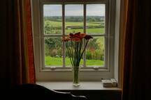 Your bedroom view of the Cumbrian countryside