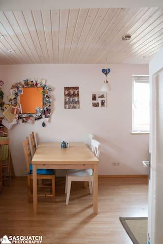 Small house w. garden Oktoberfest - Mering - Talo