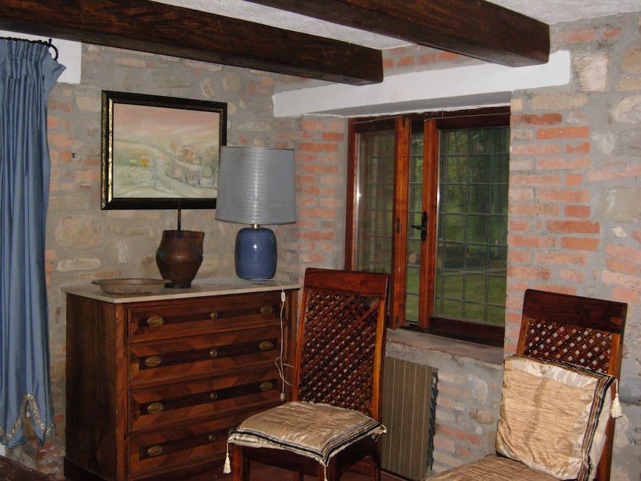 Parte della Sala da Pranzo. Part of the dining room