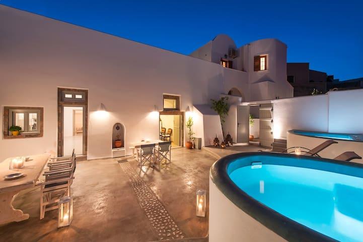 Nereids private villa, up to 12 pax - Megalochori - Luola
