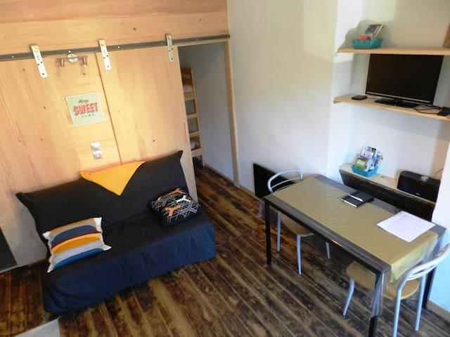 Studio en plein coeur des Alpes - Frontenex - Apartamento